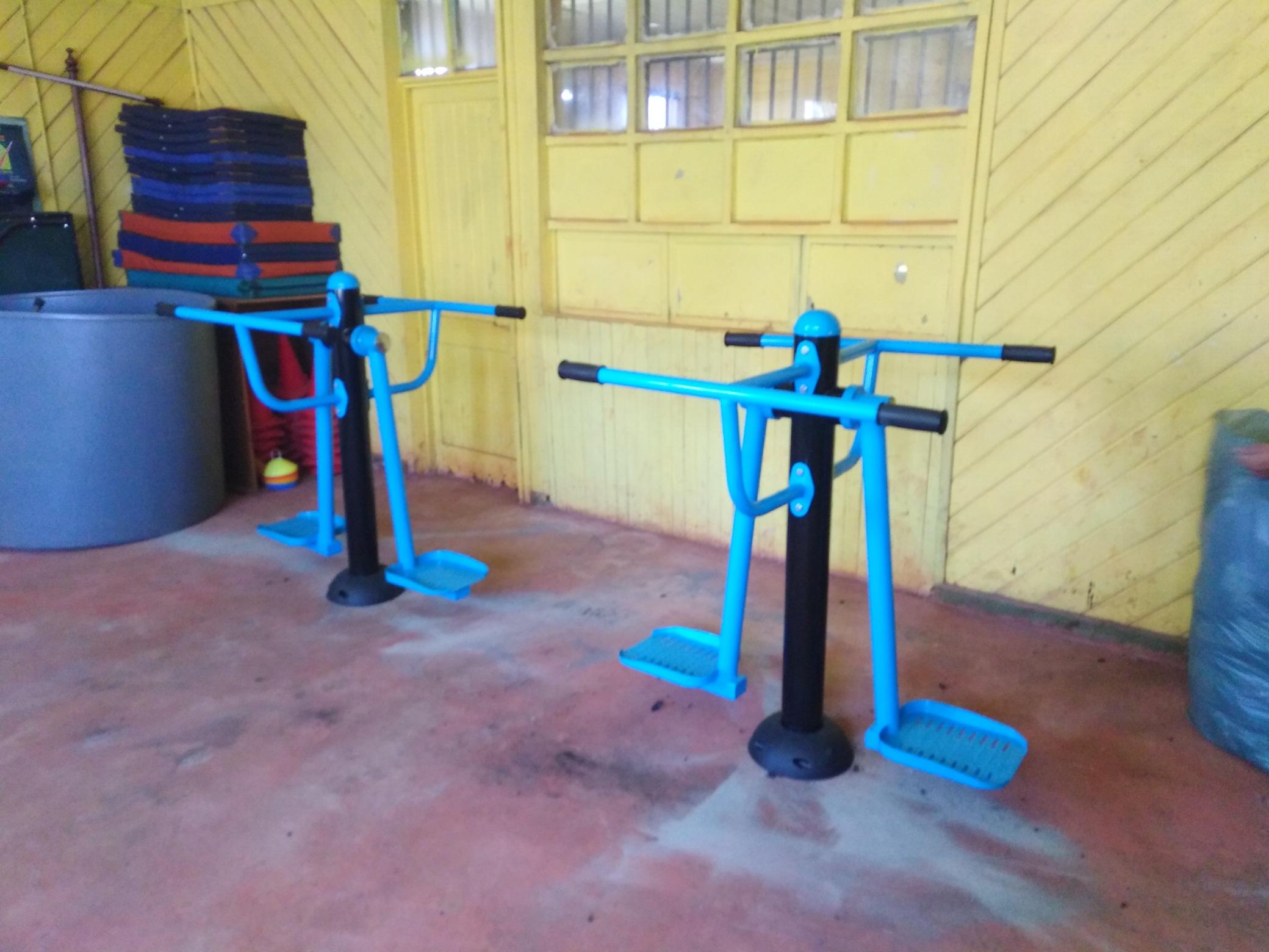 Maquina modeladora de cintura - comuna de Lautaro