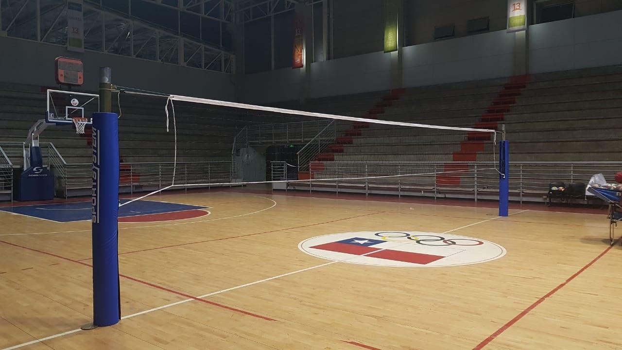 Postes de vóleibol - CEO Ñuñoa