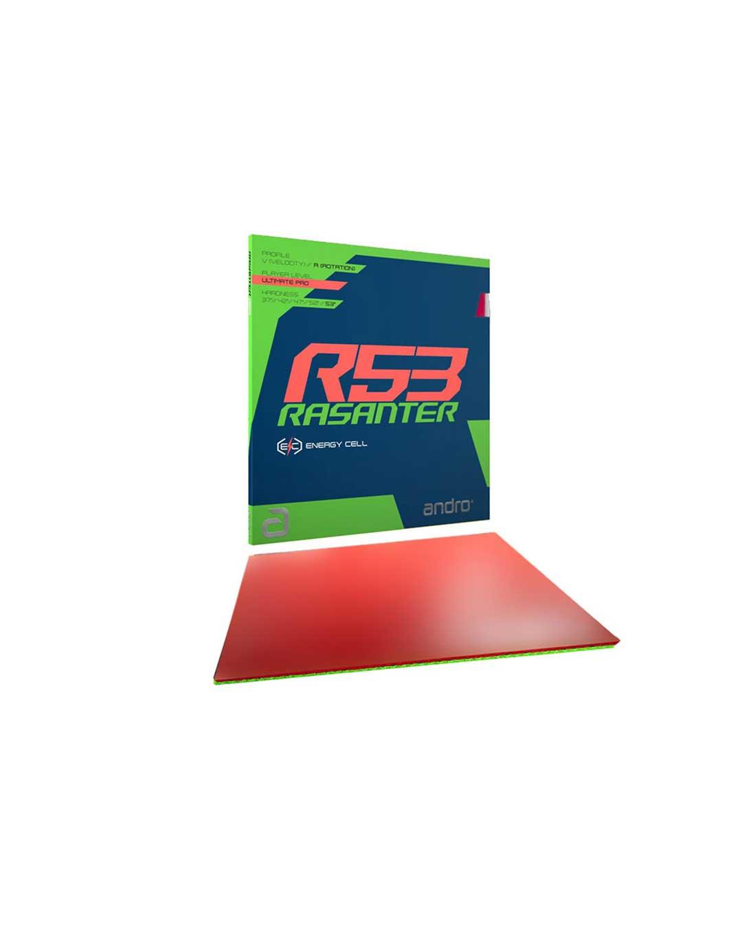 Goma tenis de mesa Rasanter R53 roja