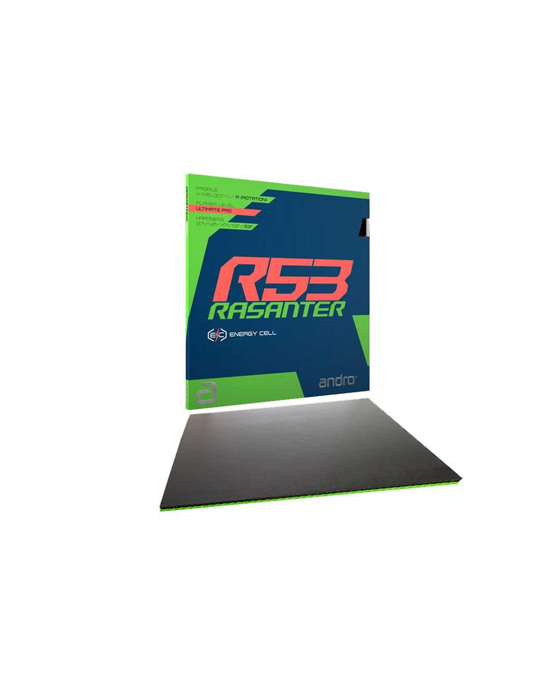 Goma tenis de mesa Rasanter R53 negro