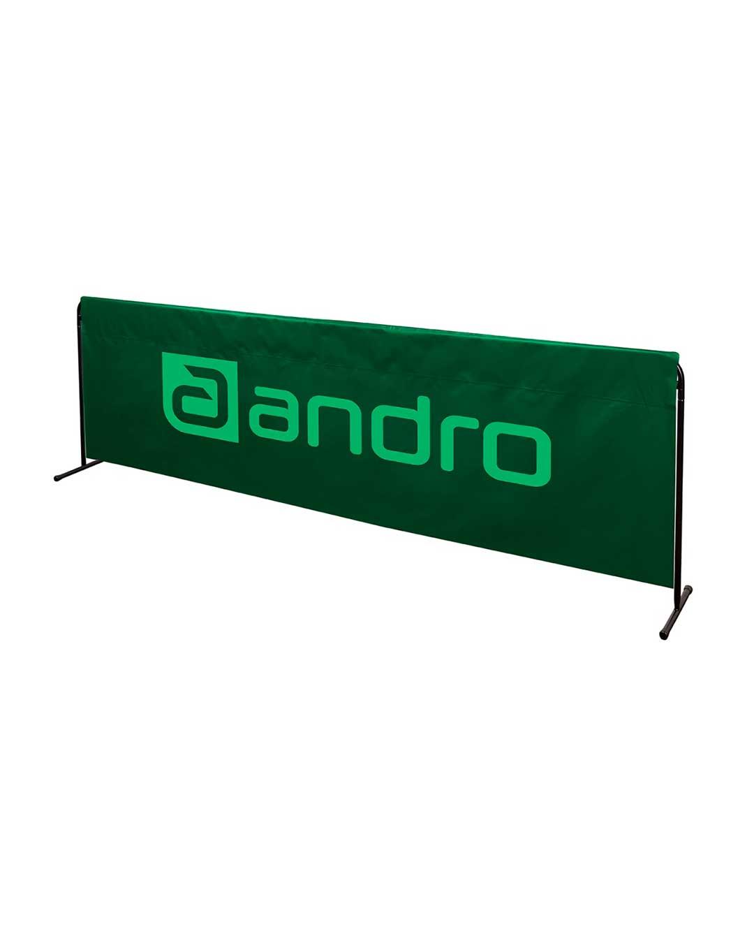 Separador Multideporte Andro de 233 cm verde