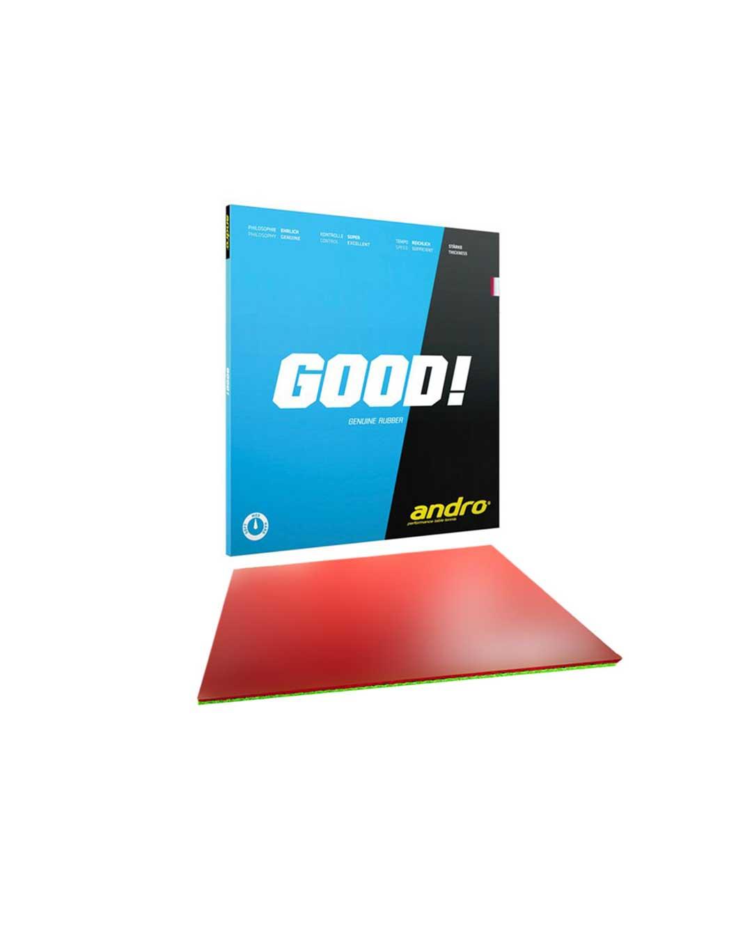 Goma tenis de mesa clásica Good! 2.1 mm roja
