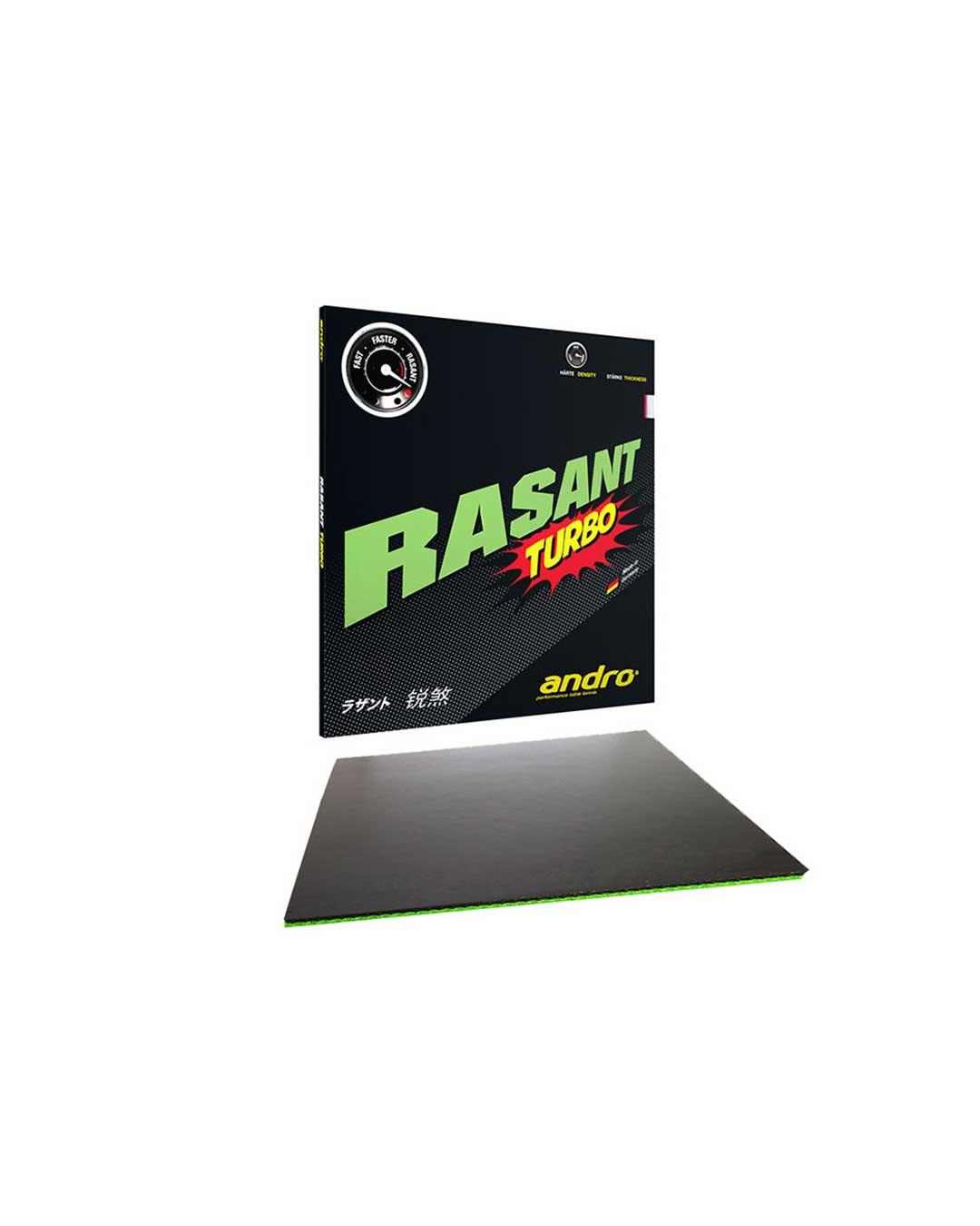 Goma Tenis de Mesa Andro Rasant Turbo Black 2.1 mm