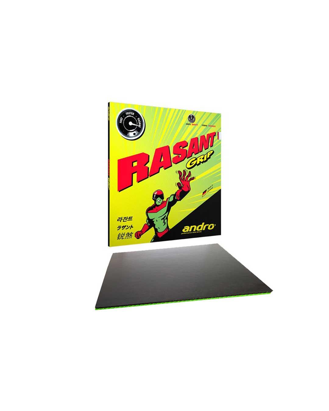 Goma Tenis de Mesa Andro Rasant Grip Black 2.1 mm