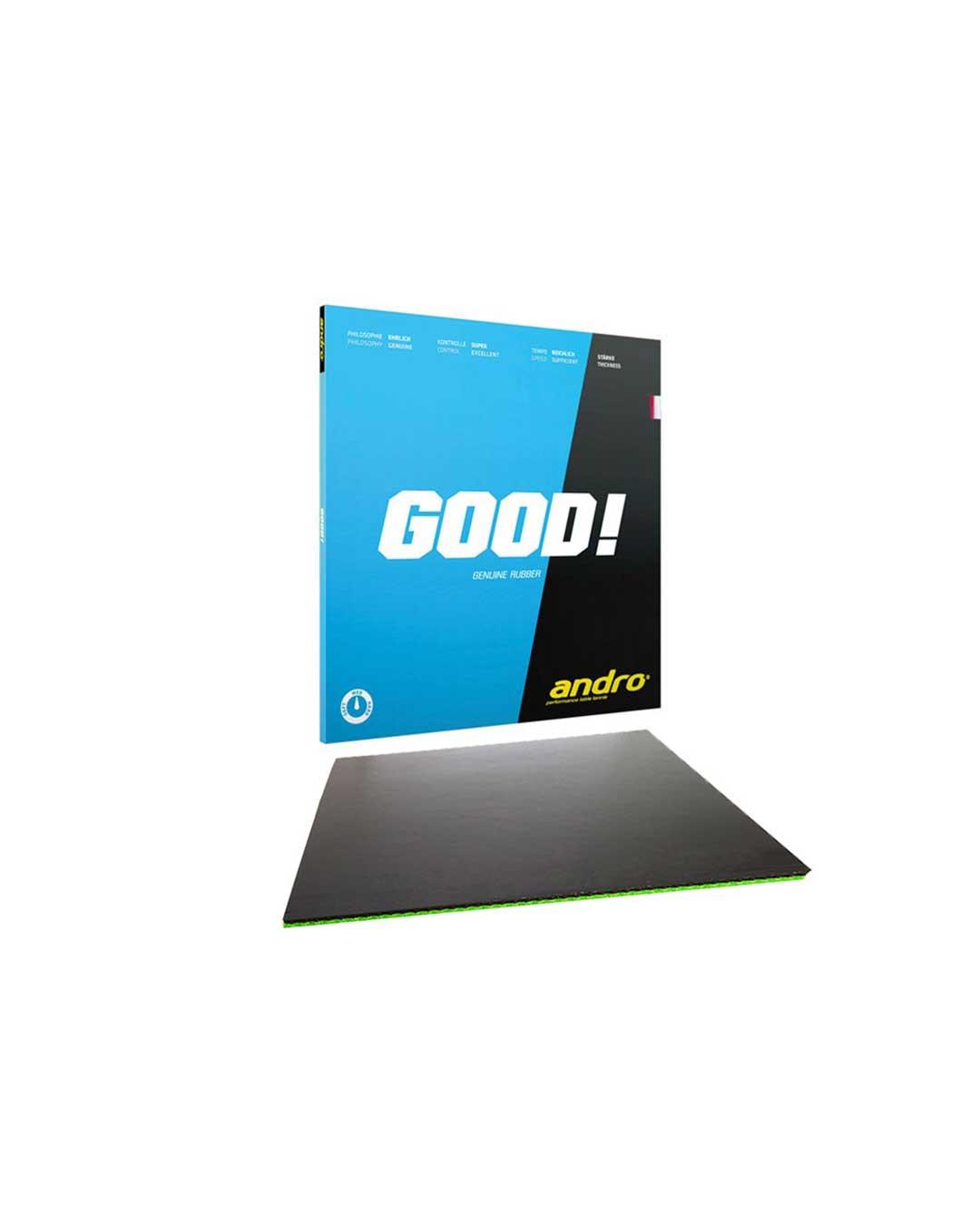 Goma tenis de mesa clásica Good! 2.1 mm negro
