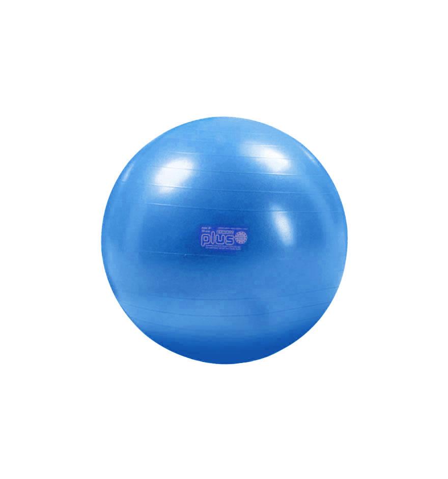 Balón de Pilates Plus Azul 65 cm