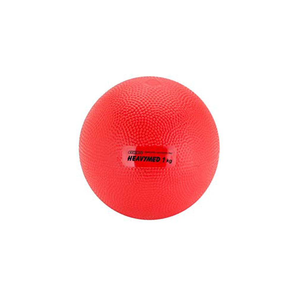 Balón medicinal 1 kg Heavymed rojo - 12 cm (97.10)