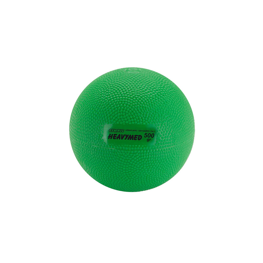 Balón medicinal 500 g Heavymed verde - 10 cm (97.05)