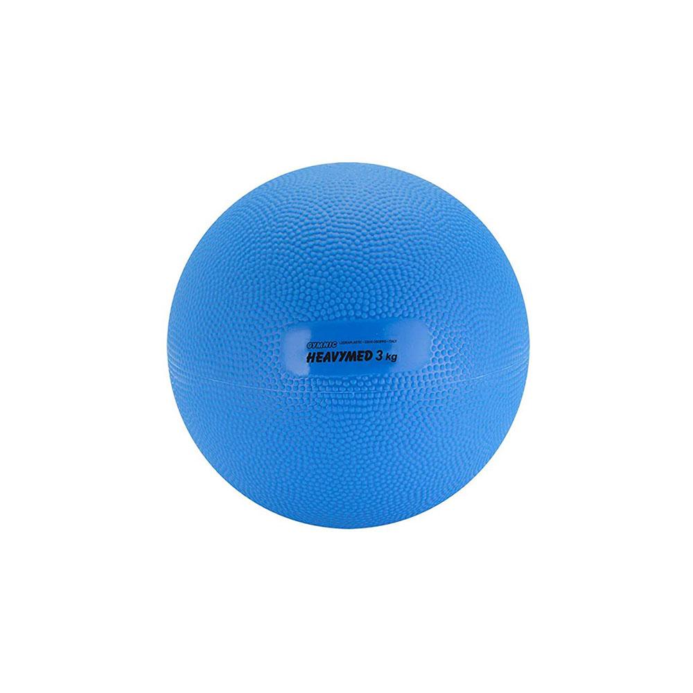 Balón medicinal 3 Kg Heavymed azul - 17 cm (97.30)