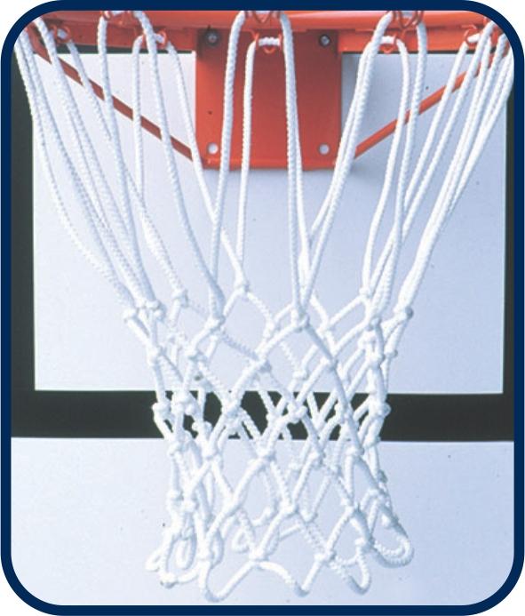 Mallas de básquetbol (par)