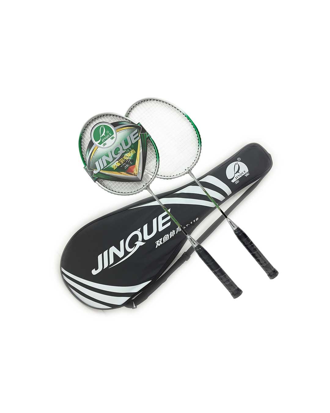 Raquetas de bádminton (par) marca Jinque