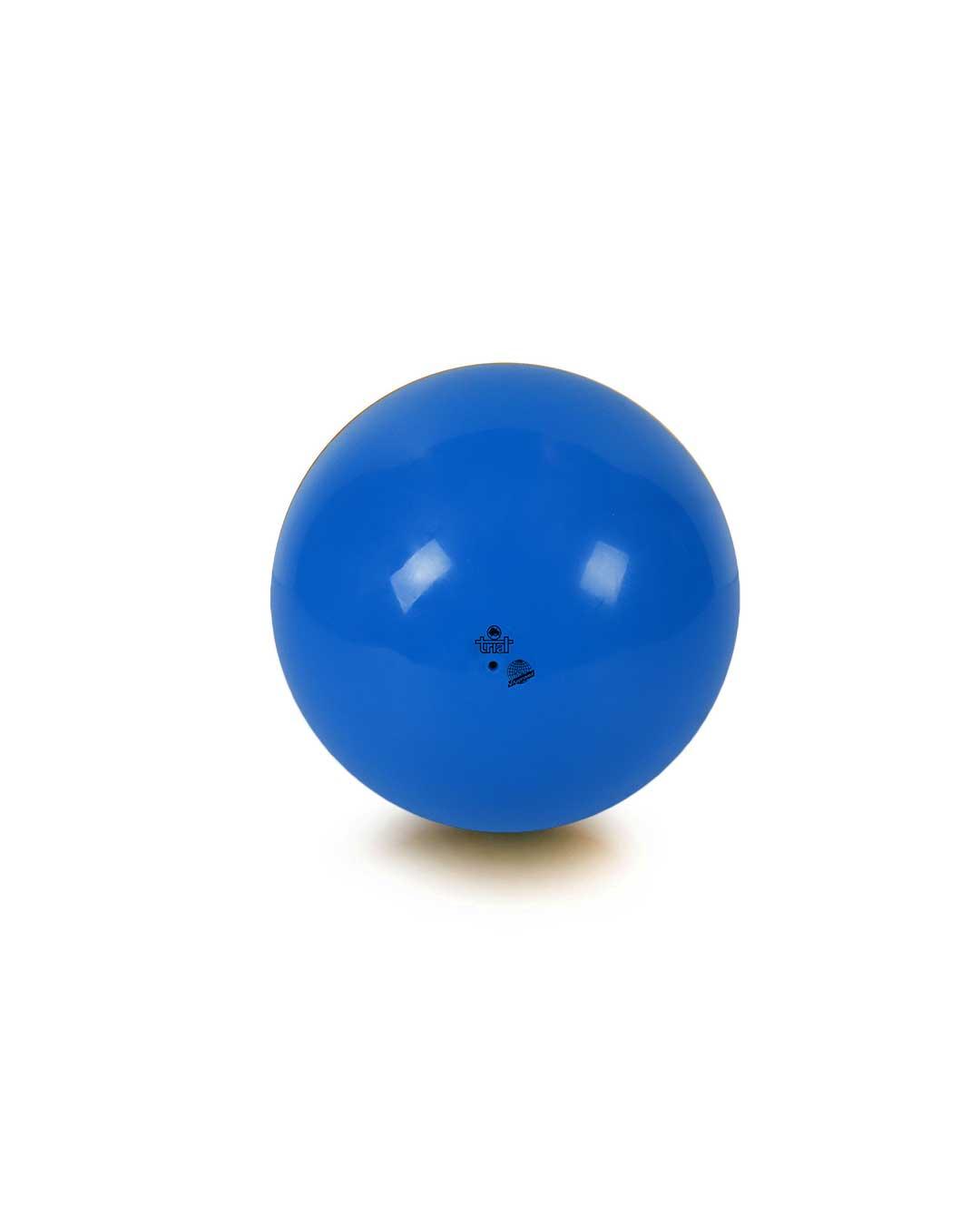 Balón de gimnasia rítmica – Marca Trial color azul 19 cm (certificado FIG)