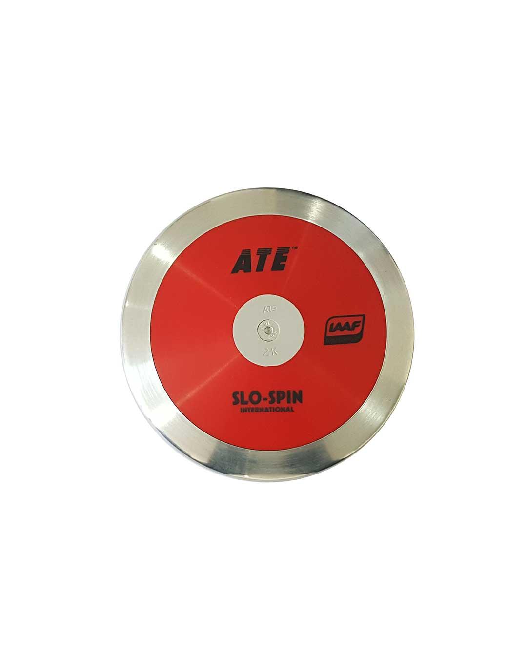 Disco de atletismo Slo-spin (Certificado IAAF)