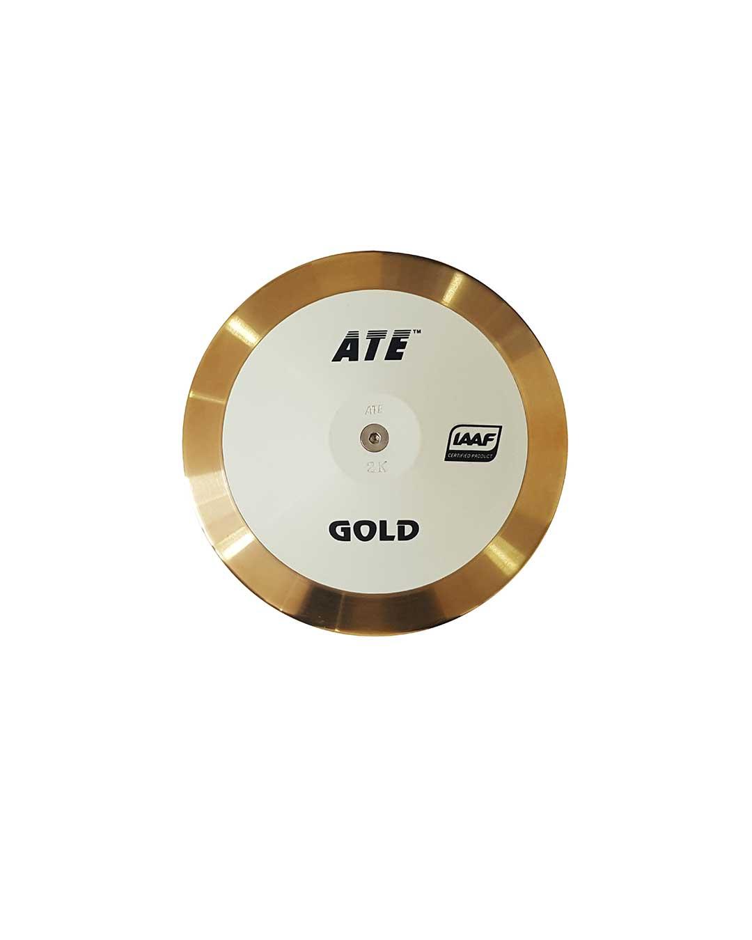 Disco de atletismo Gold (Certificado IAAF)