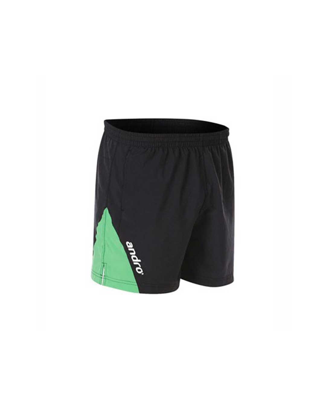 Short Andro Siran Hombre Negro/Verde