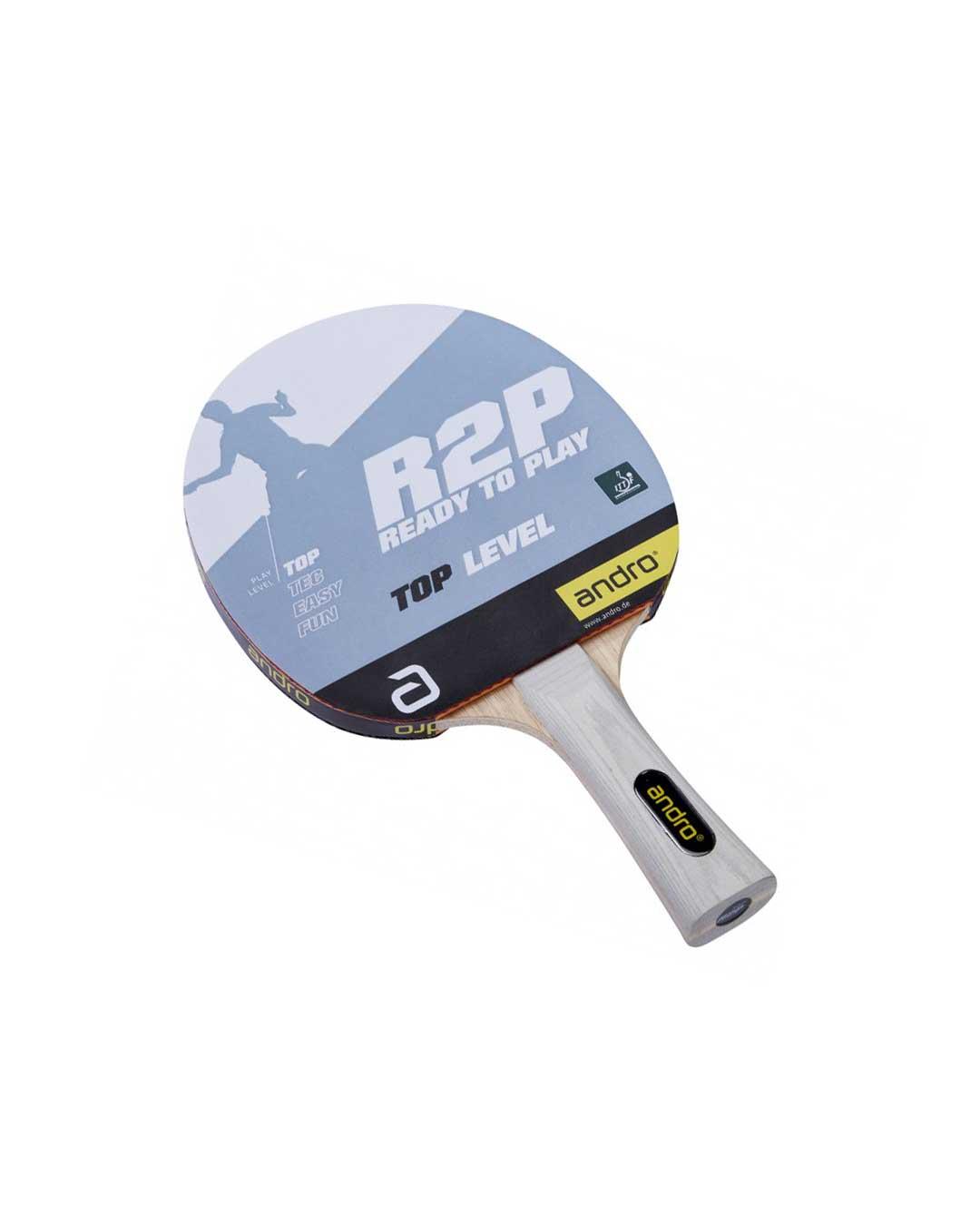 Paleta torneo Tenis mesa R2P Top Level Flaired ITTF