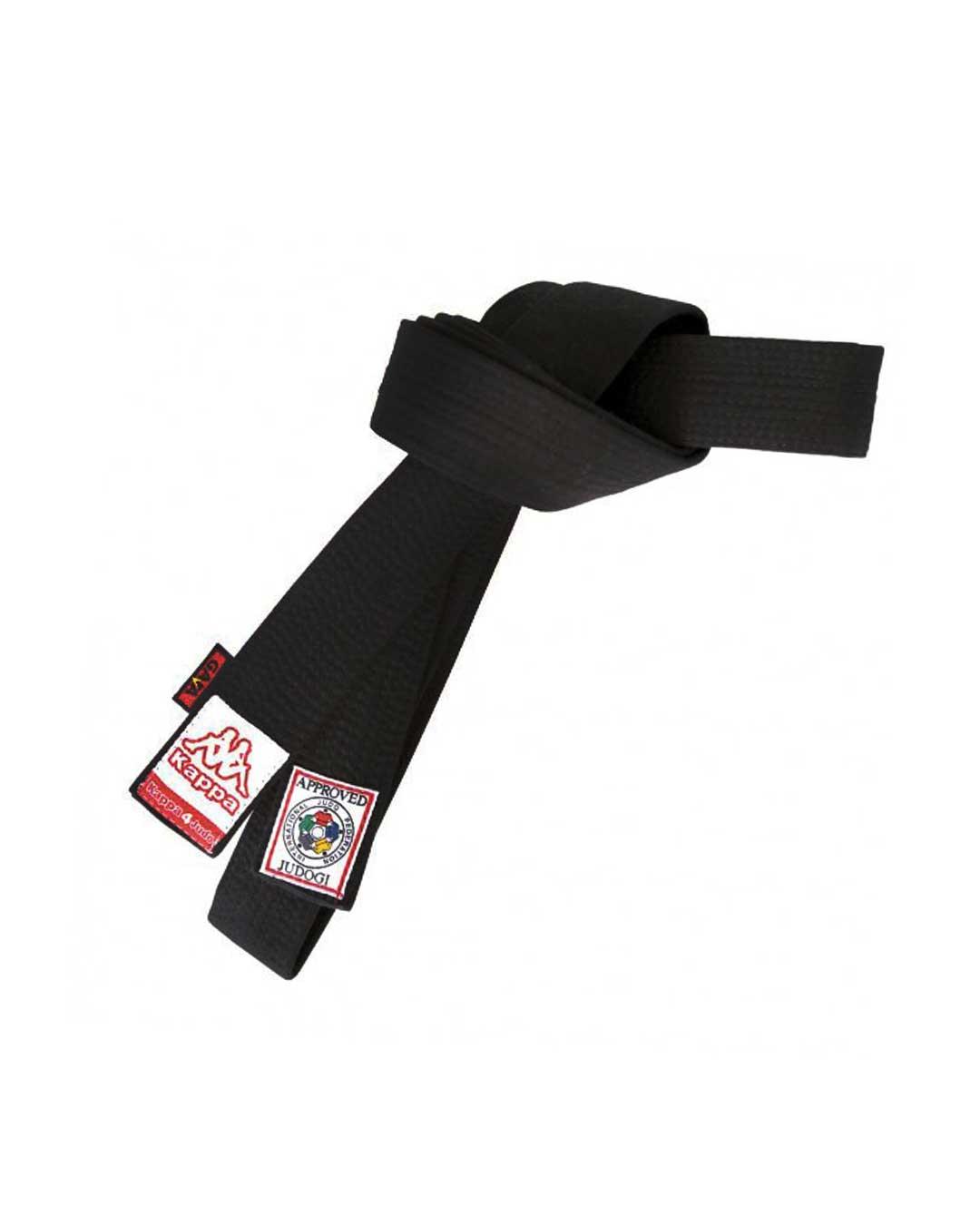 Cinturon de Judo Athene Negro - KAPPA