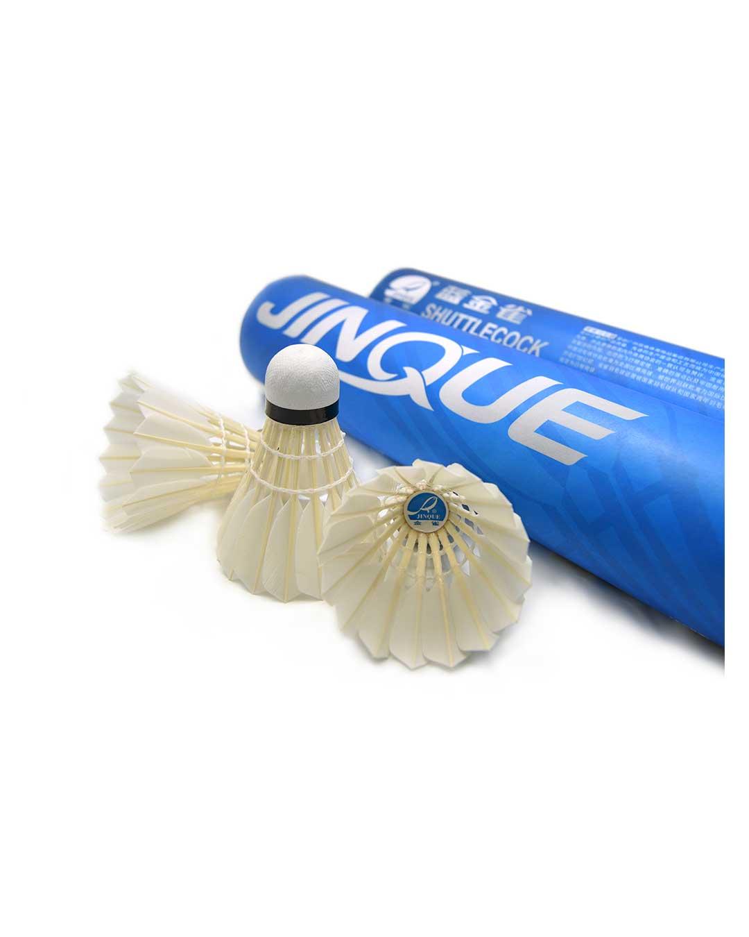 Plumillas de Bádminton competición (Docena) marca Jinque