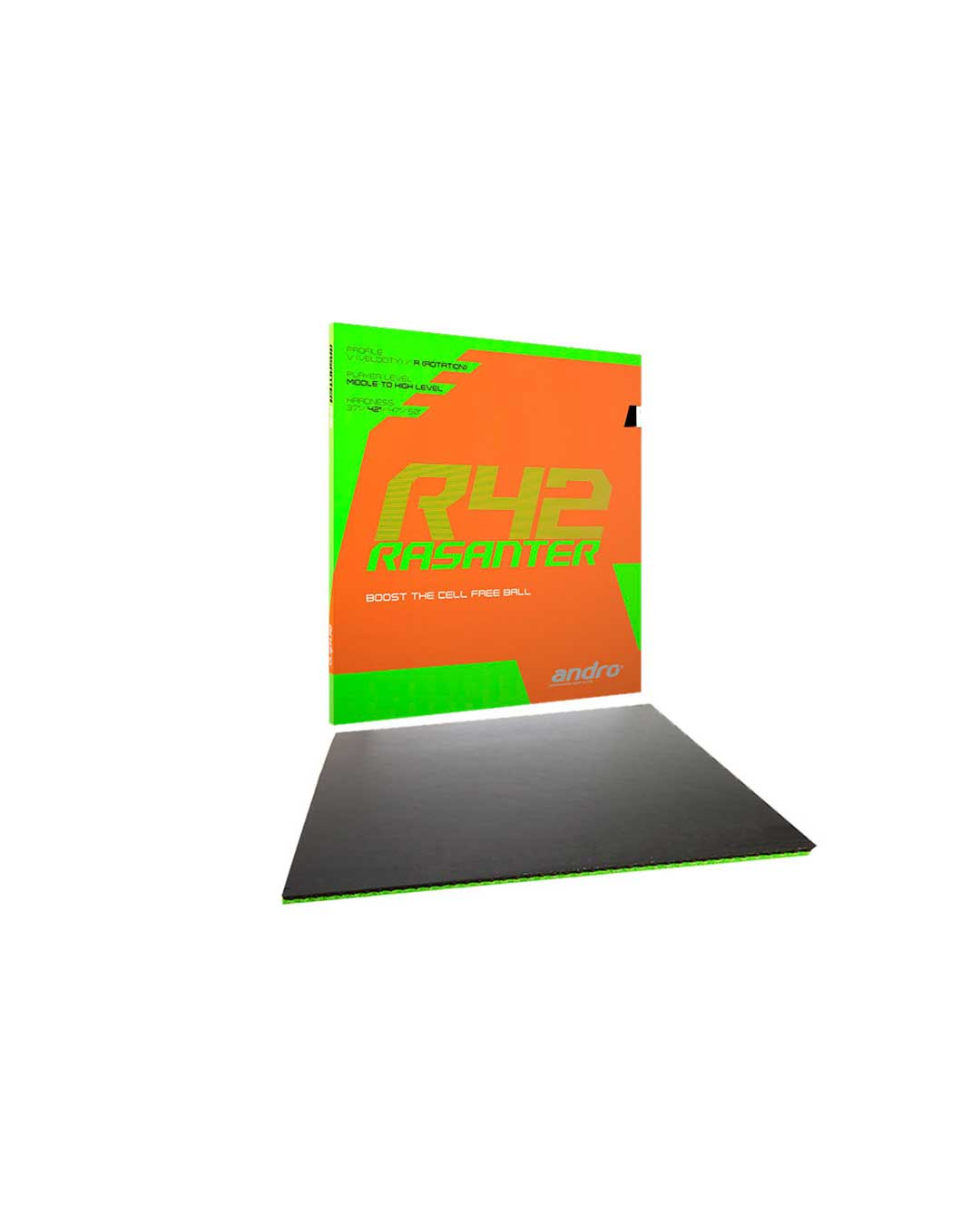 Goma Tenis de Mesa Andro Rasanter R42 Black Ultramax
