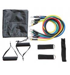 Banda Elástica Tubular 5 Colores con Manillas y Tope Para La Puerta
