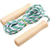 Cuerda de Salto Mangos de Madera