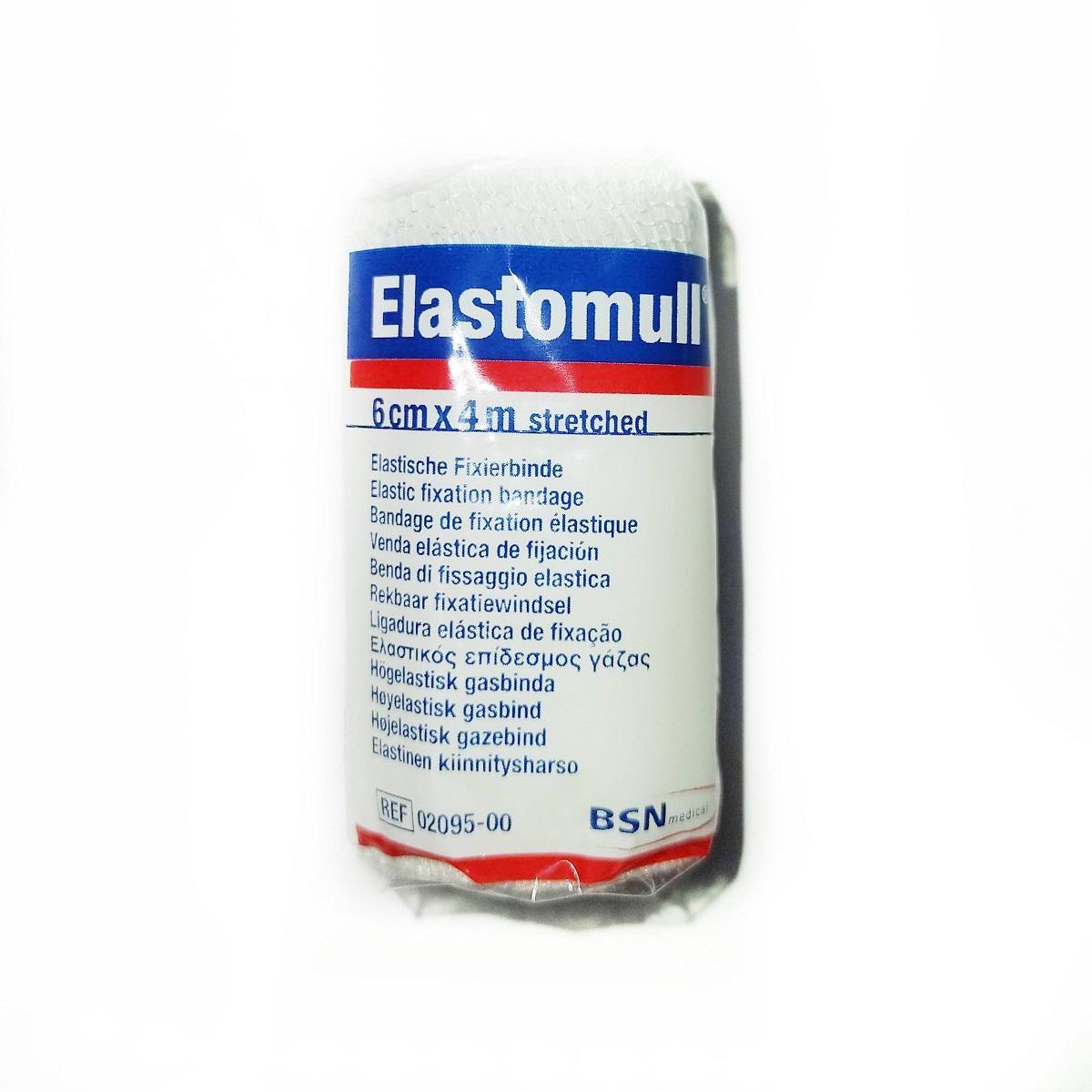 Elastomull 6 cms x 4 mts