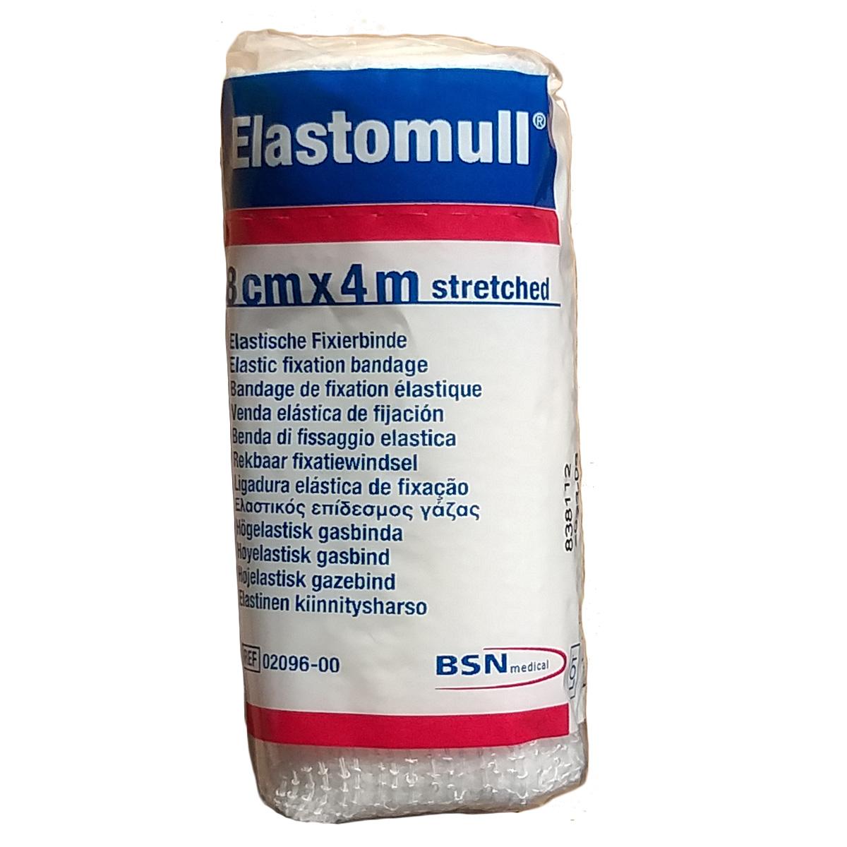 Elastomull 8 cms x 4 mts
