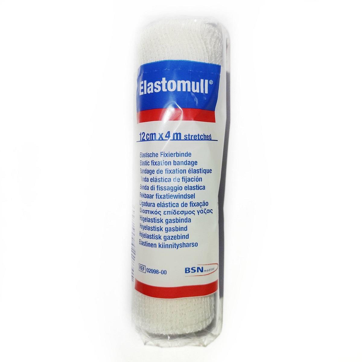 Elastomull 12 cms x 4 mts