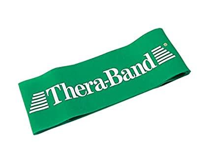 Banda Loop Elástica de Resistendia Theraband Loop Verde