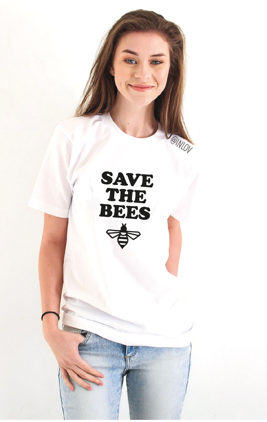 TEE UNISEX SAVE THE BEES