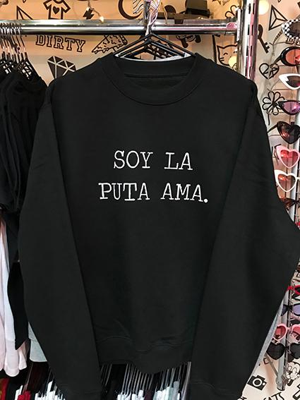 PULLOVER SOY LA AMA