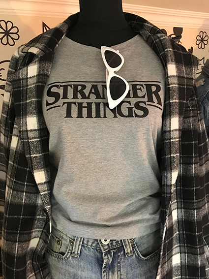 TEE UNISEX STRANGER THINGS LOGO