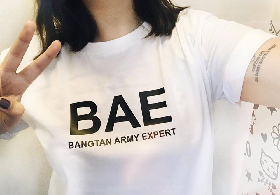 TEE UNISEX / BANG ARMY EXPERT