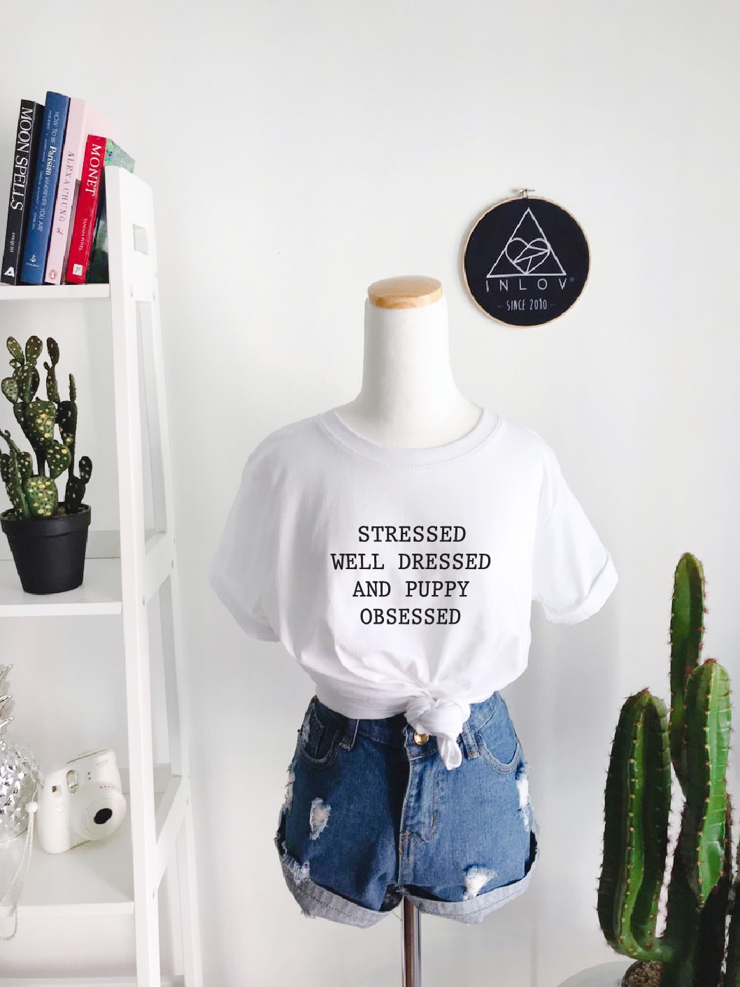 TEE UNISEX PUPPY OBSESSED