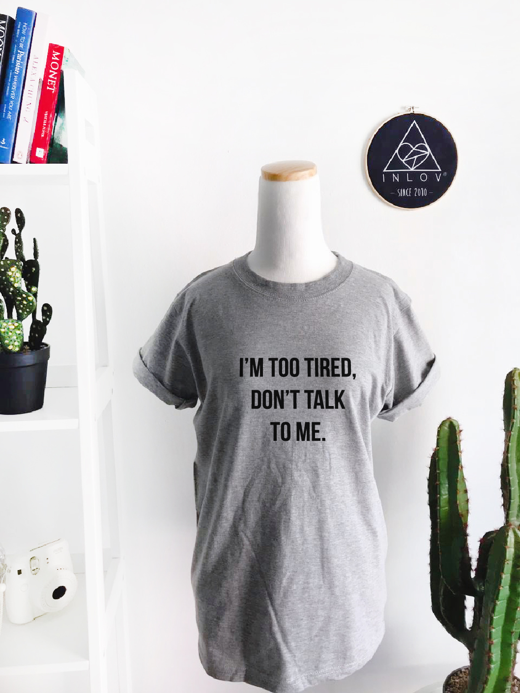 TEE UNISEX DON'T TALK TO ME
