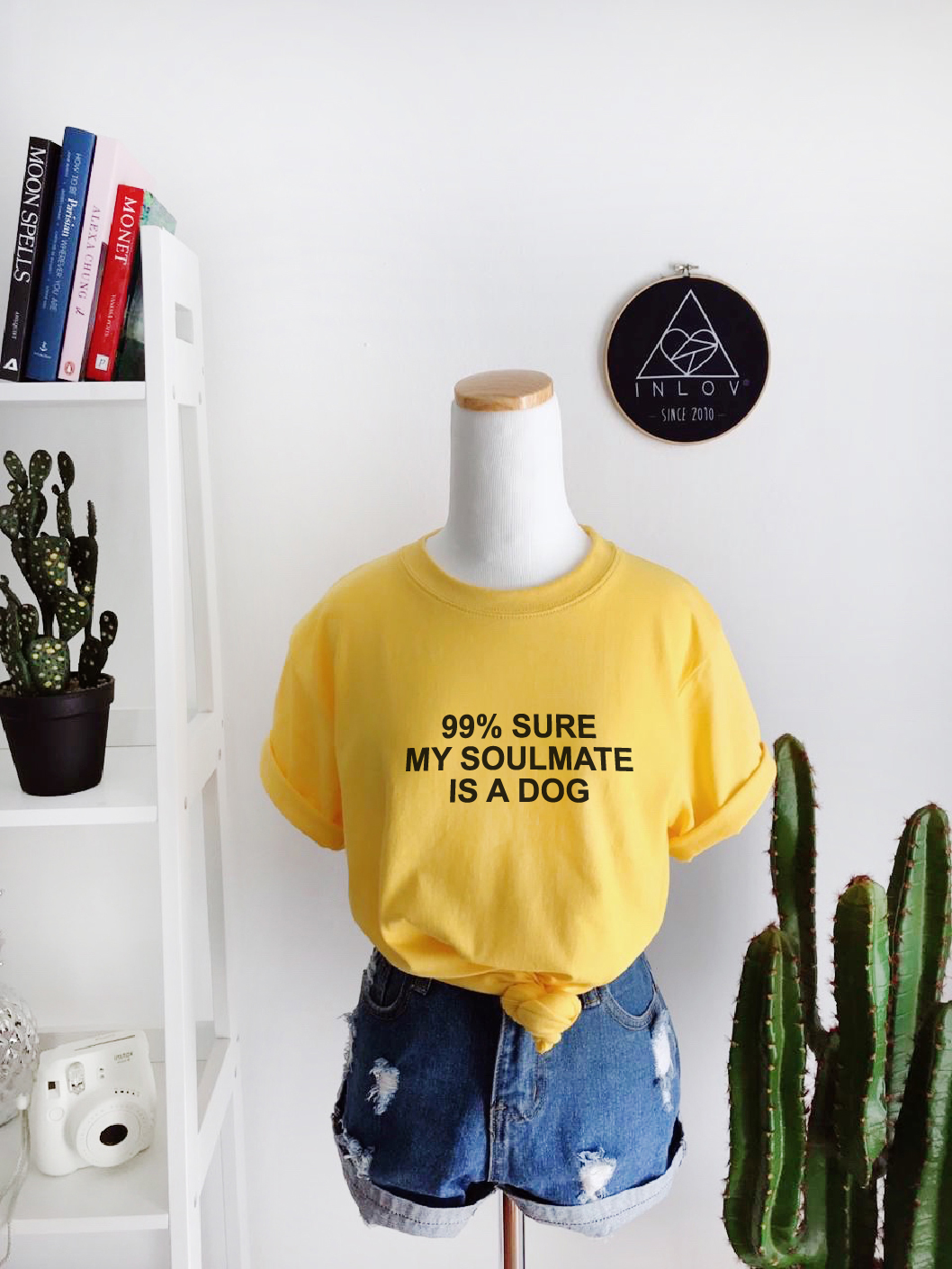 TEE UNISEX MY SOULMATE IS A DOG