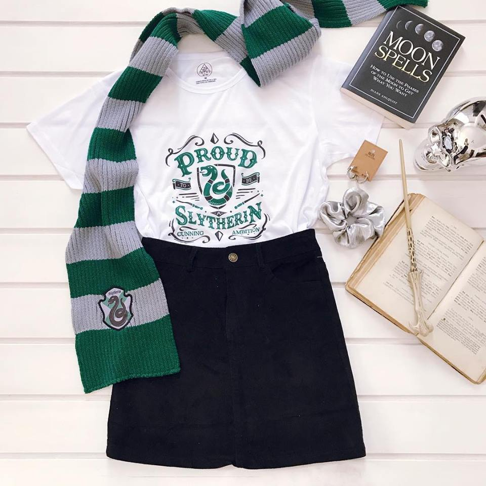 TEE CARTOON / SLYTHERIN