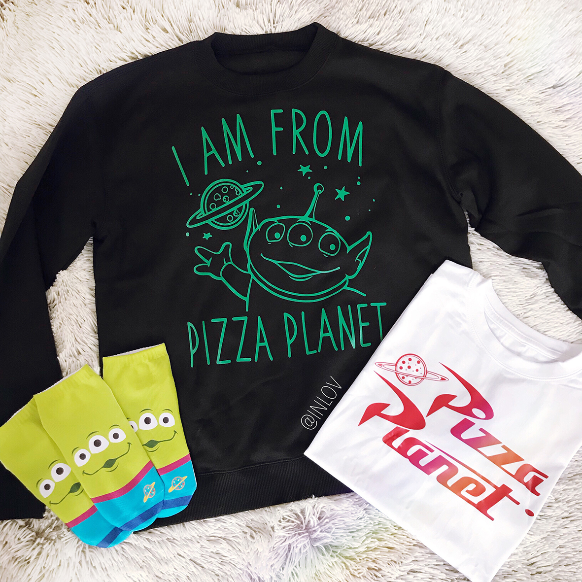 PULLOVER PIZZA PLANET