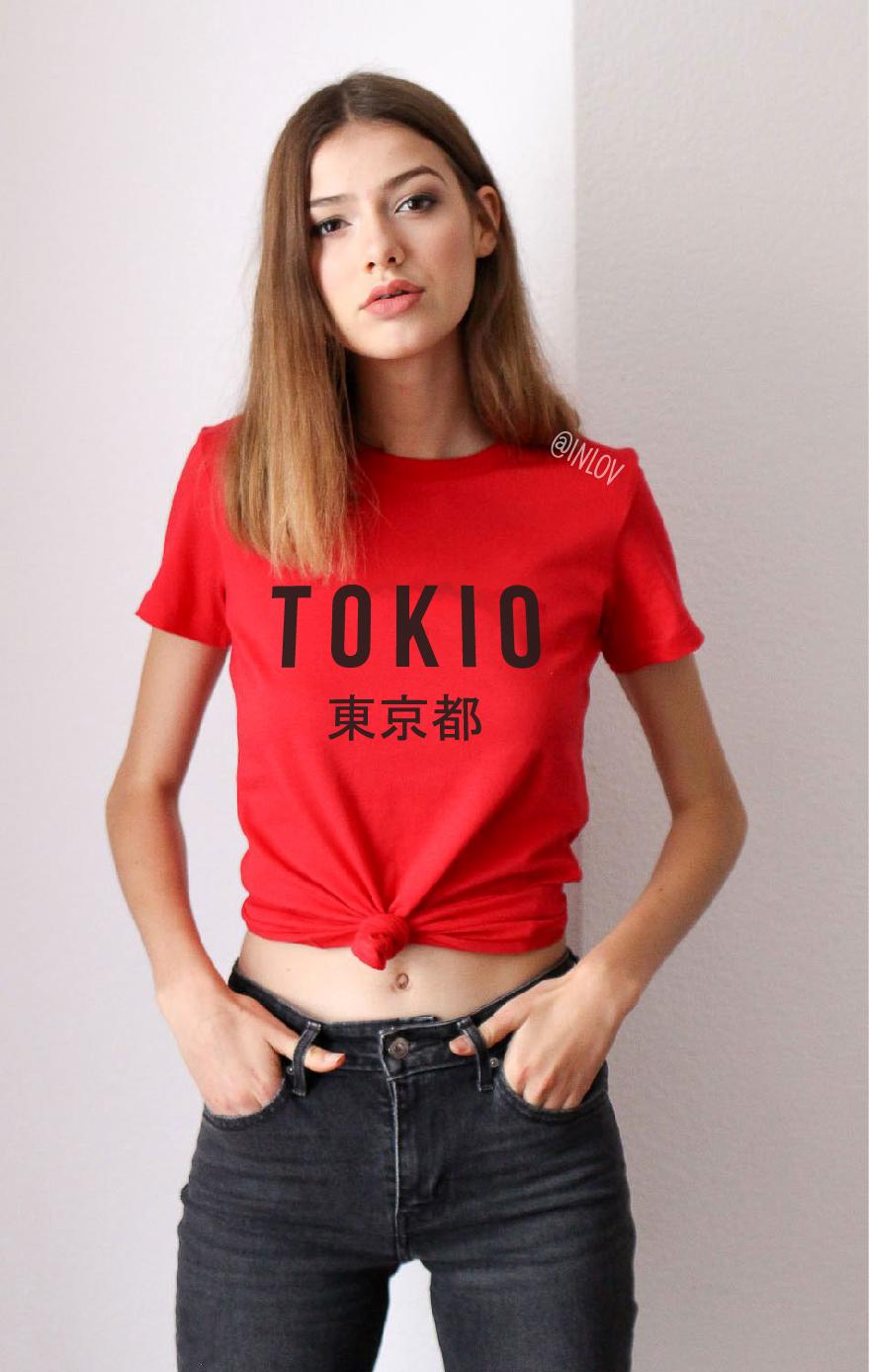TEE UNISEX TOKIO