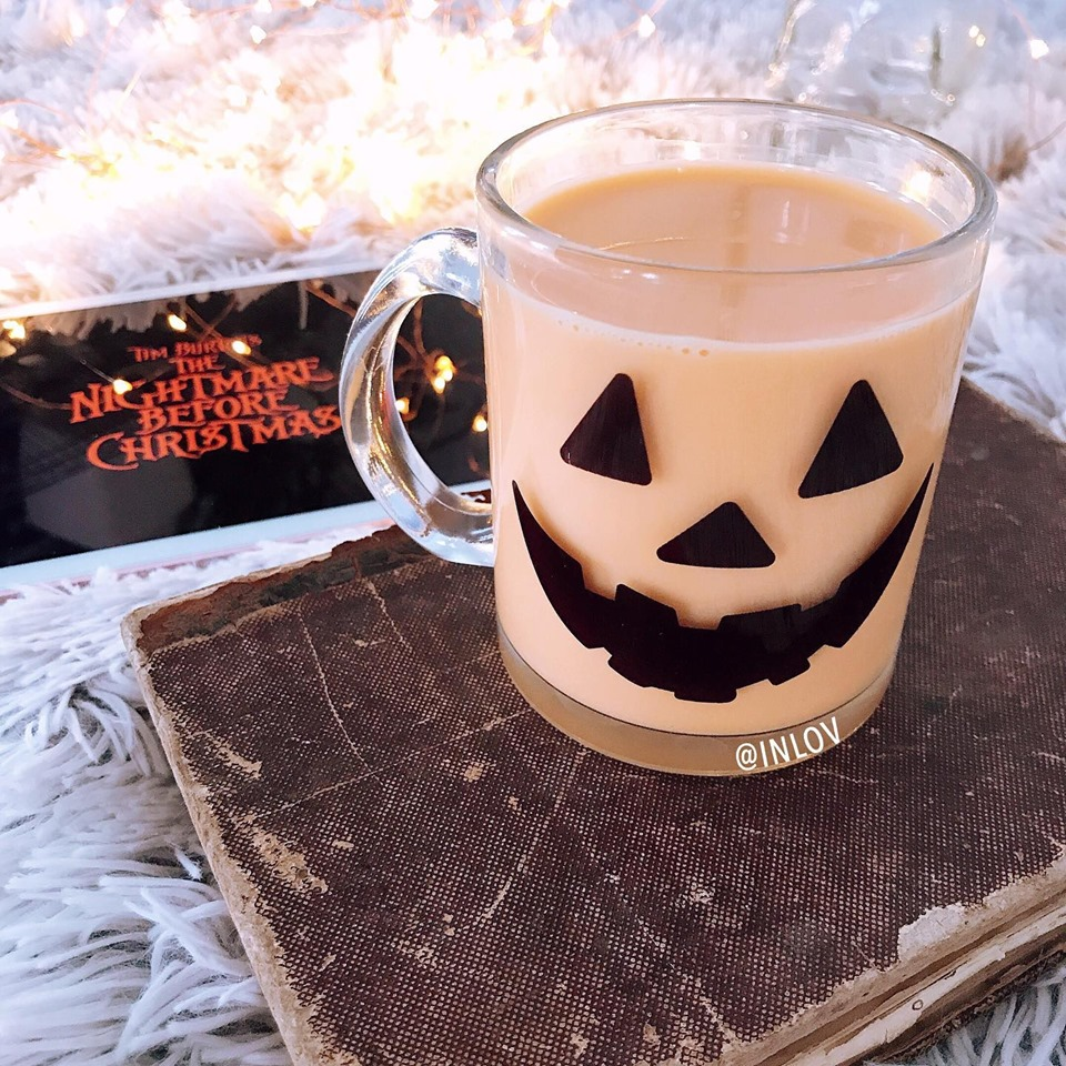 Taza clear Pumpkin