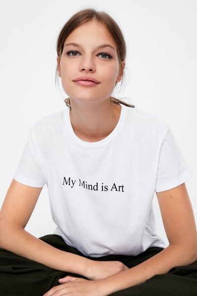 TEE UNISEX / MY MIND IS ART