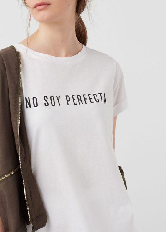 TEE UNISEX / NO SOY PERFECTA