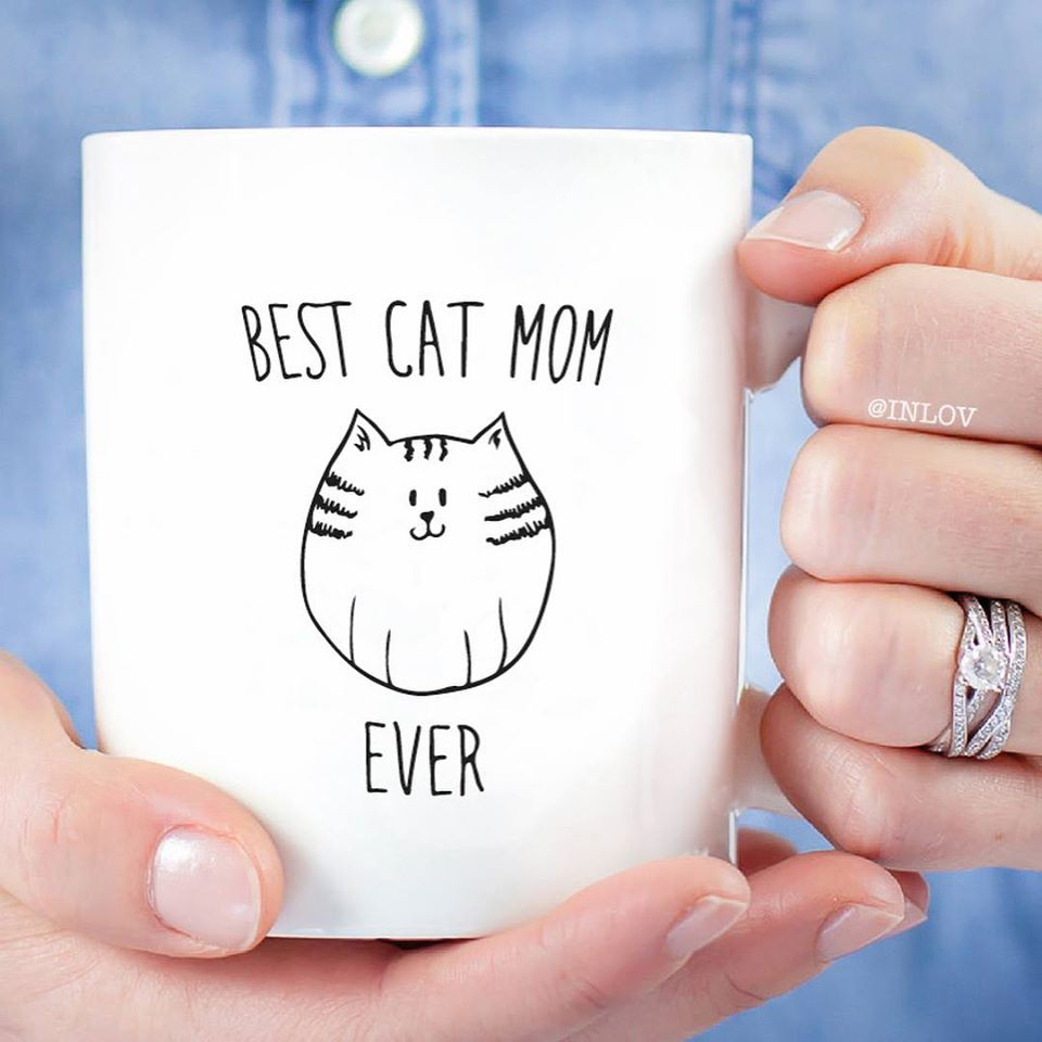 TAZON BEST CAT MOM EVER