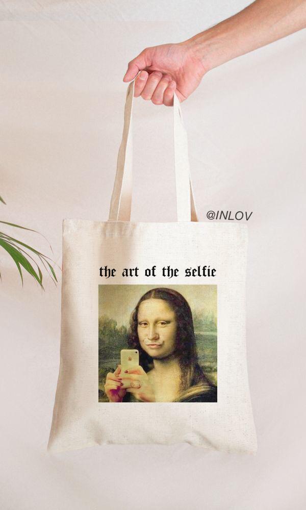 TOTE BAG THE ART OF THE SELFIE
