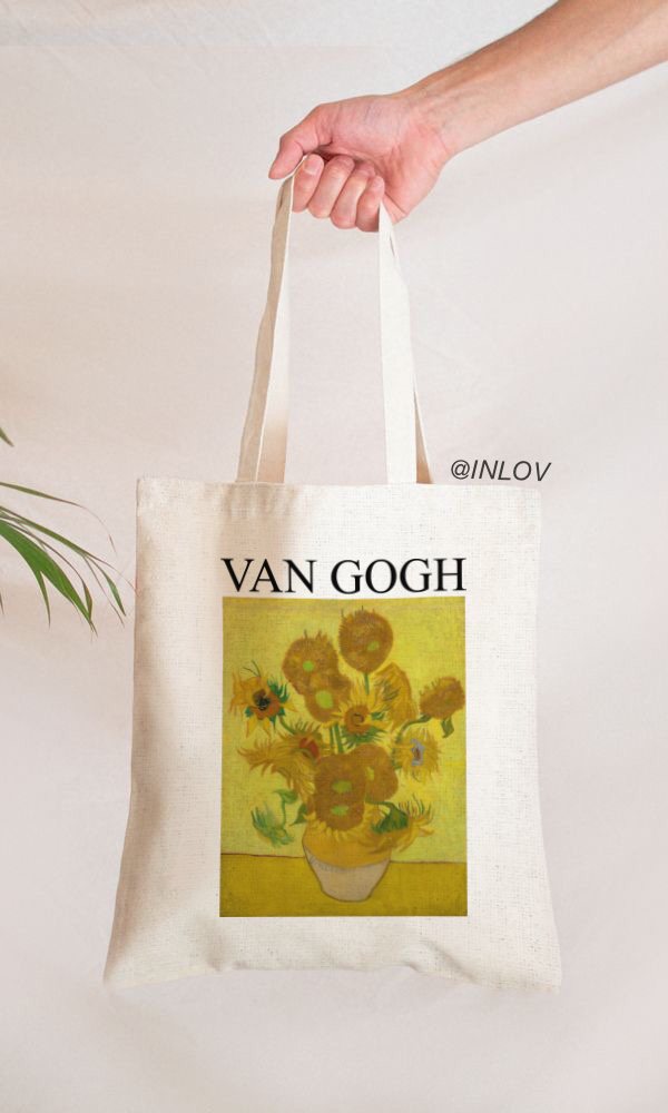 TOTE BAG GIRASOLES VAN GOGH