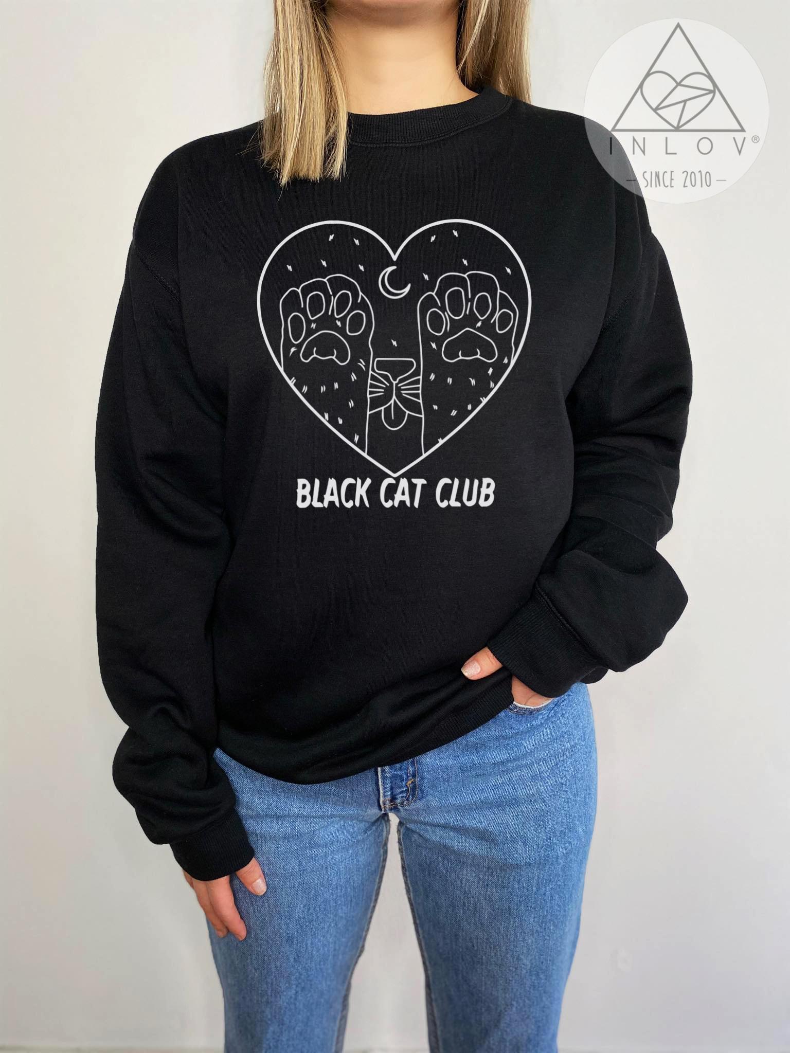 PULLOVER BLACK CAT CLUB