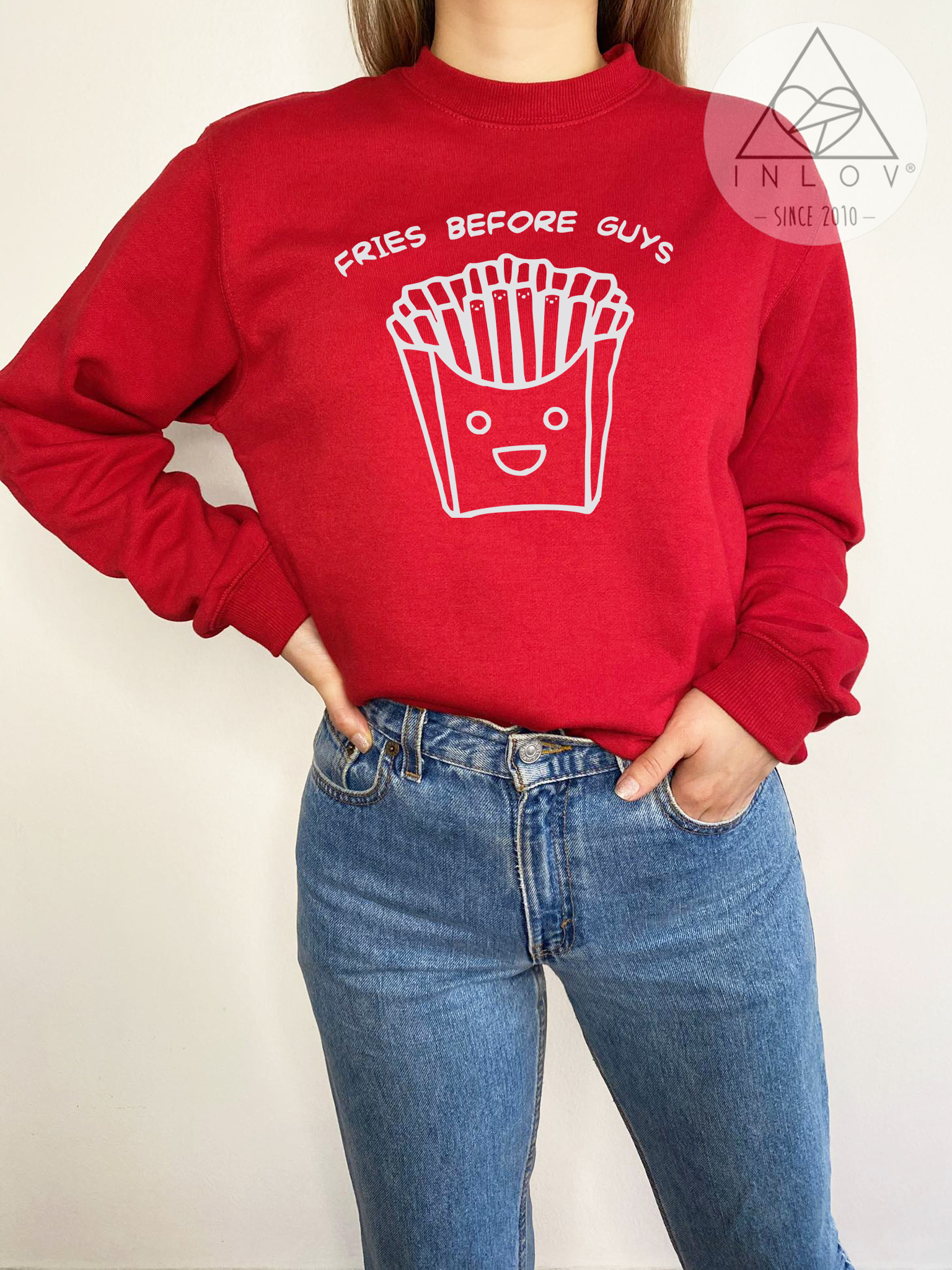 PULLOVER FRIES BEFORE GUYS