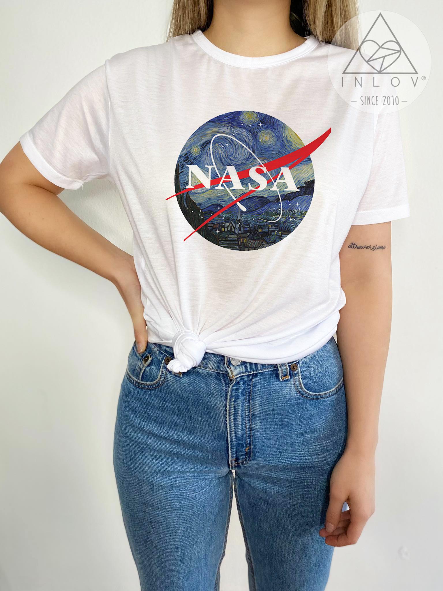 TEE CARTOON / NASA VAN GOGH