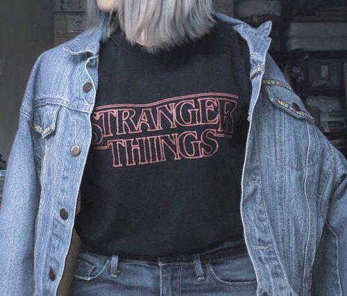 TEE UNISEX / STRANGER THINGS