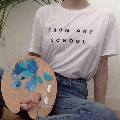 TEE UNISEX / FROM ART SCHOOL
